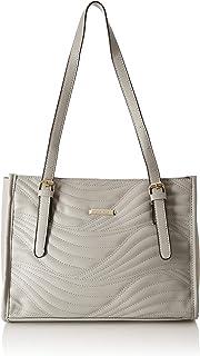 Flavia Women's Handbag (Grey)