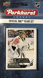 2018 2019 Upper Deck Parkhurst NHL Hockey Western Division All Star Series 10 Juego de Cartas con Connor McDavid, Patrick Kane, Anze Kopitar, Marc Andre Fleury y 6 Otros Jugadores