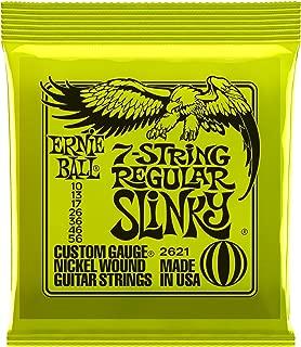 Ernie Ball 7-String Regular Slinky Nickel Wound Set, .010 - .056