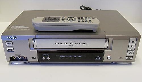 Sanyo VWM-710 4-Head Hi-Fi Stereo VCR product image