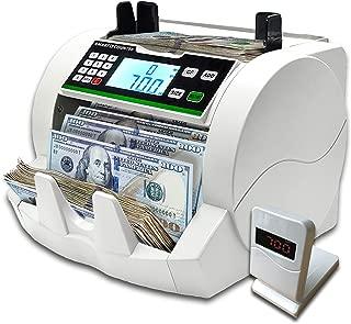 Catekro Contador de billetes Mini Boleto de conveniencia Boleto en efectivo Moneda Contador de monedas m/últiples