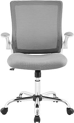 Serta CHR10023B Works Creativity Mesh Office Chair, Gray