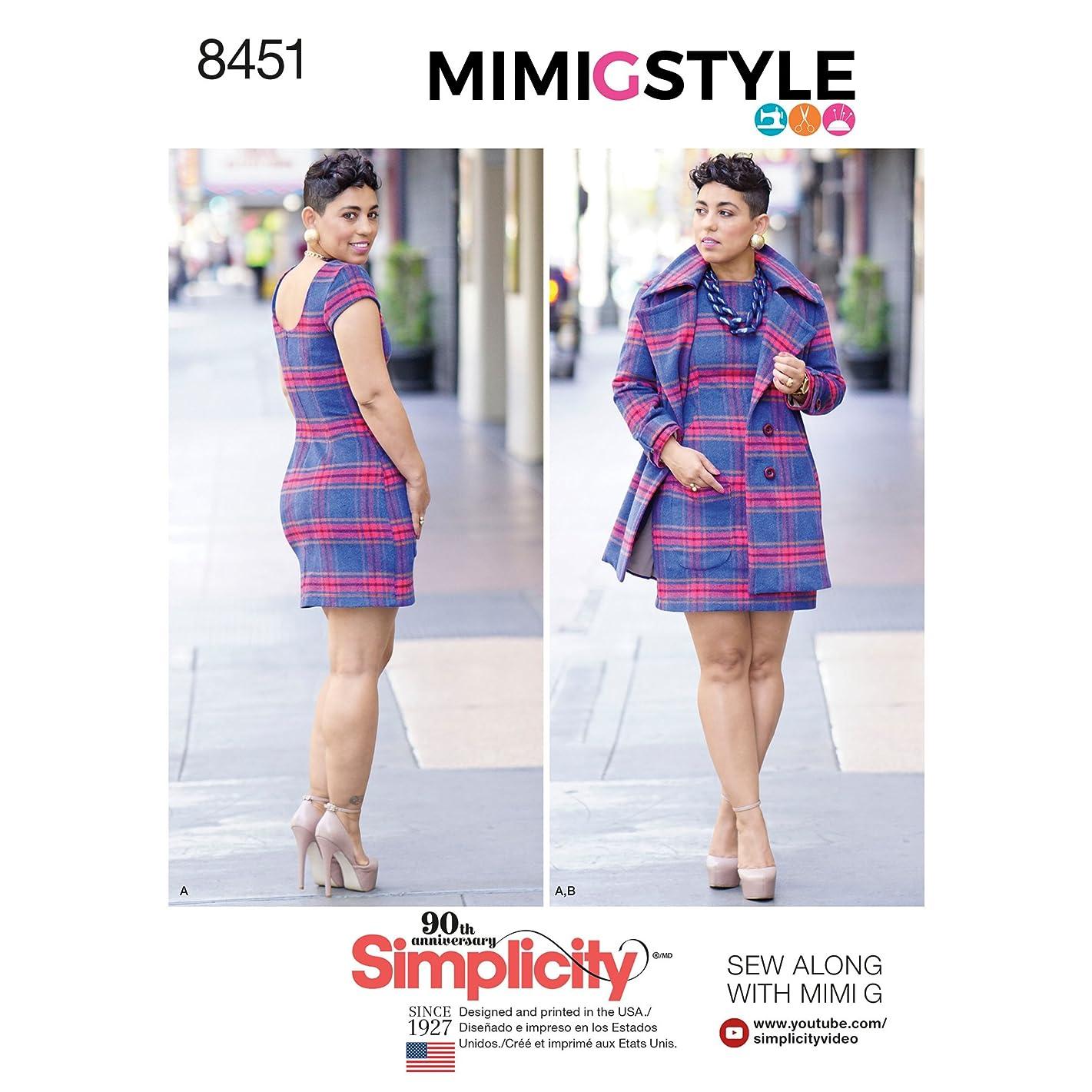 Simplicity Creative Patterns Dresses, U5 (16-18-20-22-24)