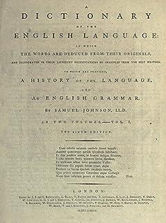 Samuel Johnson's Dictionary of the English Language (English Edition)