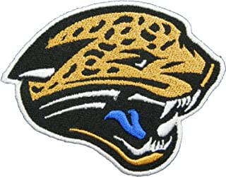 Jacksonville Jaguar 9x7 cm Patch Sew Iron on Logo Embroidered Badge Sign Emblem Costume BY Dreamhigh_skyland