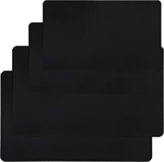 """Car Dashboard Anti-Slip Mat, SourceTon 4 Packs 10.5"""" x 5.7"""" and 8"""" x 5.1"""" Sticky Non-Slip Dashboard Gel Latex Pad for Cell..."""