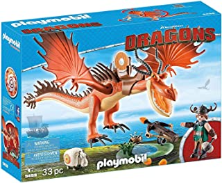 Bestway MPLAYMOBIL® 9459 How to Train Your Dragon Snotlout with Hookfang, Multicolorickey Mouse Clubhouse Armbands - 91002