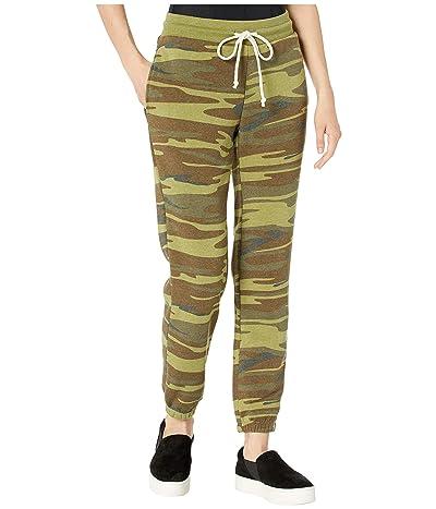 Alternative Classic Printed Eco-Fleece Jogger Pants (Camo) Women