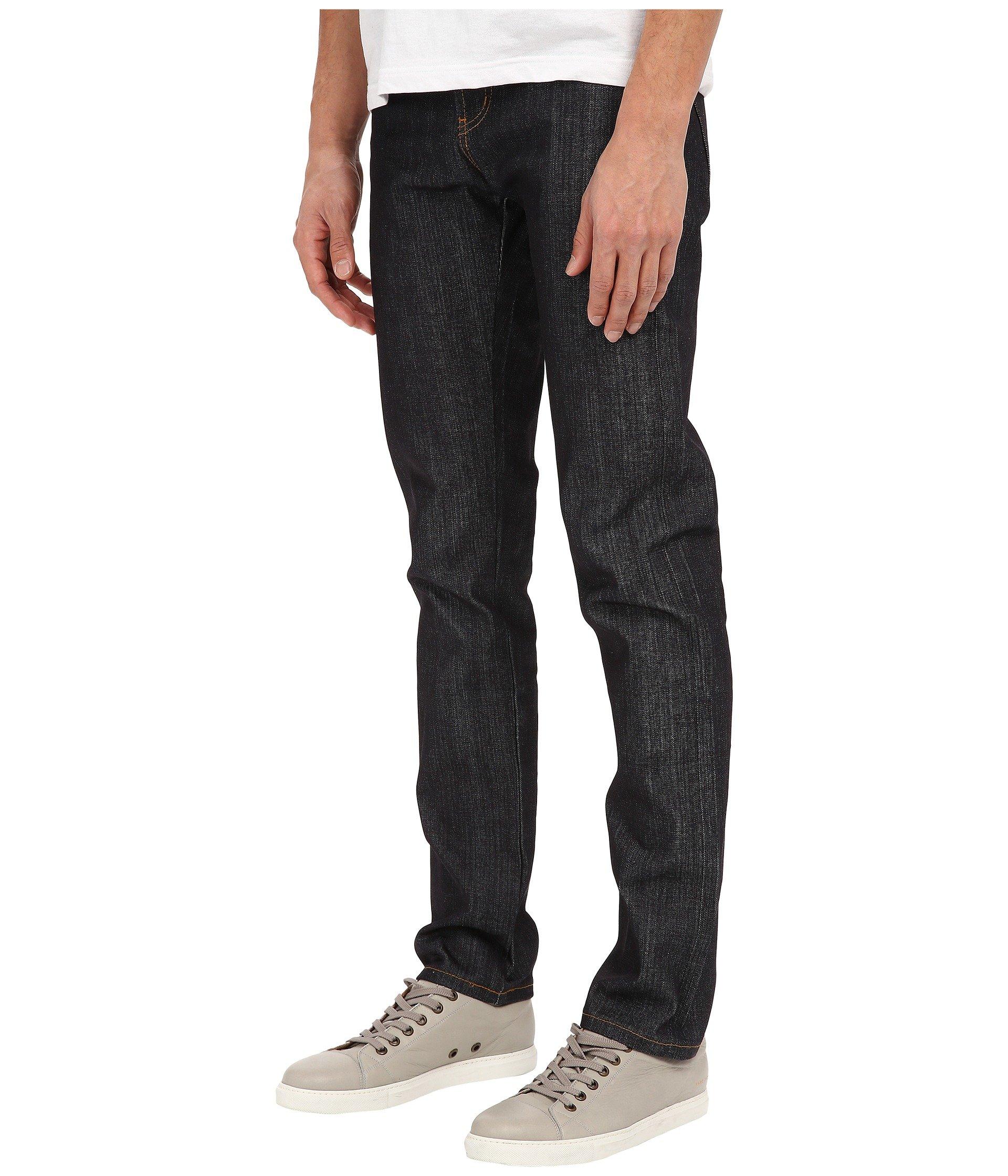 Denim Super Left Indigo Selvedge Twill Hand Naked Jeans Guy Famous amp; qwESfn78T