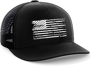 Tactical Pro Supply American Flag Snapback Hat – Embossed Logo American Cap for Men..