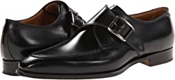 Gravati Calf Leather Buckle Monk Strap