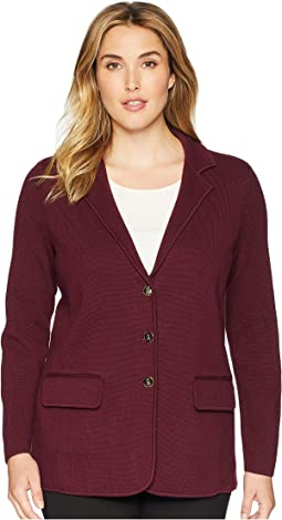 LAUREN Ralph Lauren. Plus Size Cotton Piqu� Blazer. $185. New. Plus Size  Cotton Blazer