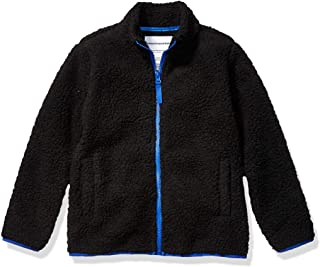Amazon Essentials Full-Zip High-Pile Polar Fleece Jacket Niños