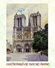 Cathedral of Notre Dame: Composition Notebook - 9.75