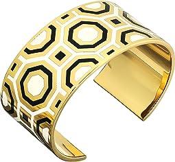 Tory Burch - Octagon Geo Enamel Cuff Bracelet
