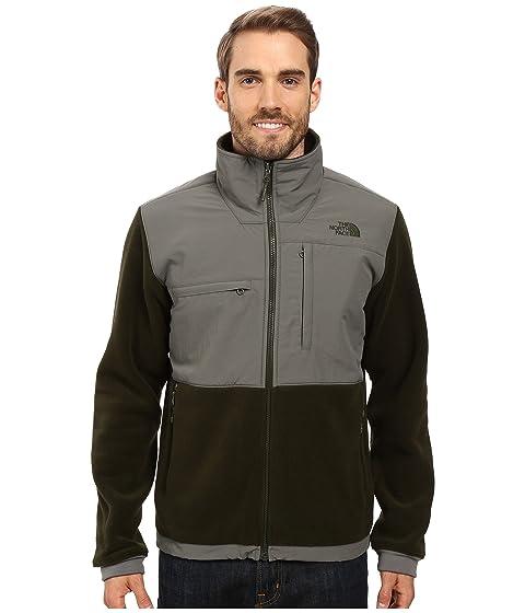 The North Face Men's Denali 2 Jacket (Green/Grey)