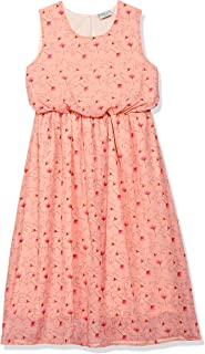 Cherokee by Unlimited Girl's Synthetic A-Line Knee-Length Dress