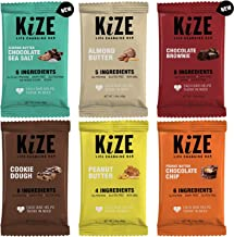 KiZE Bar (10 Pack) - Best Sellers Variety Pack | Real Ingredients, Real People, Every Bar Helps Those in Need | Non GMO, G...