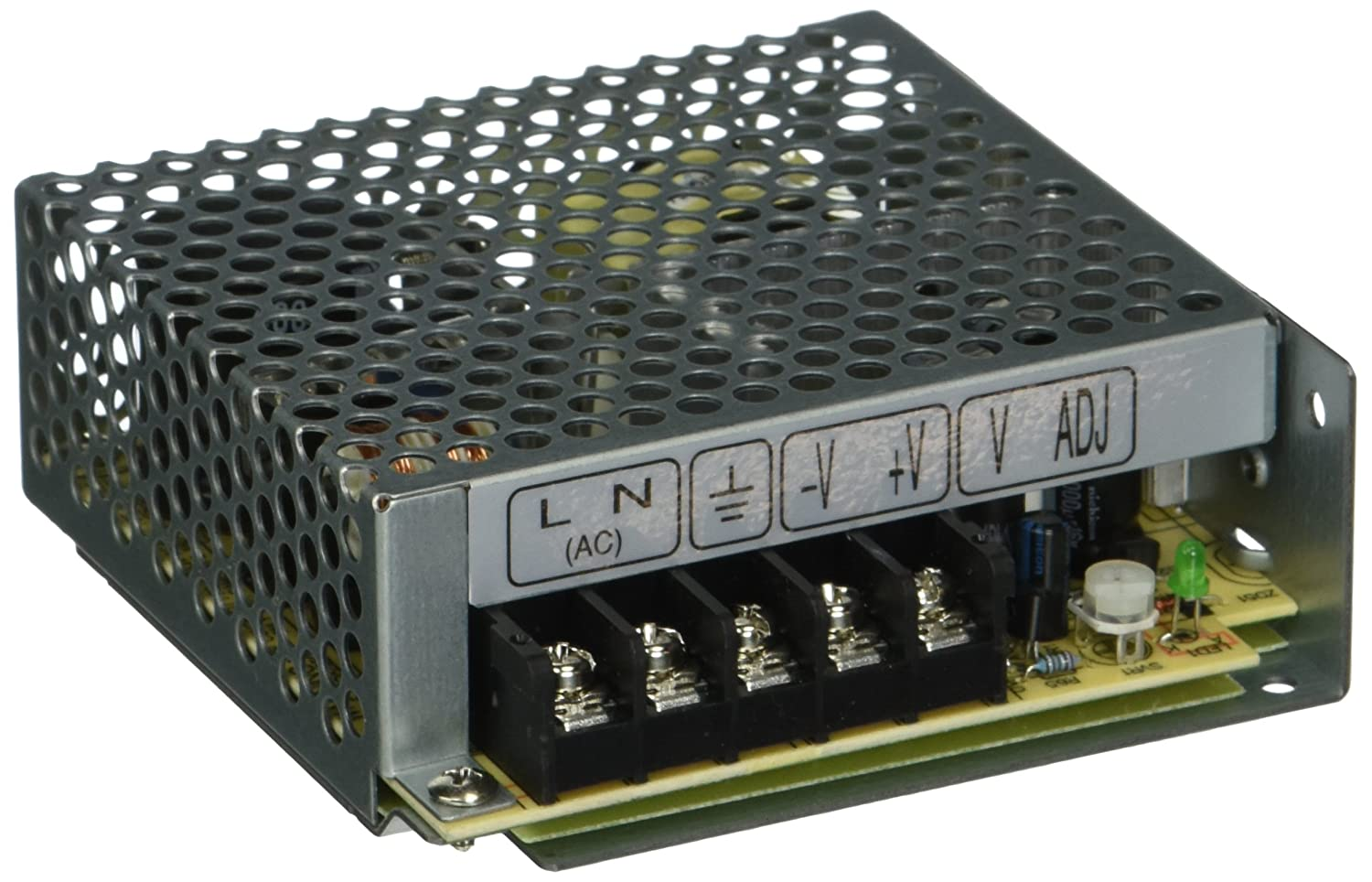 MEAN WELL RS-50-12 AC to DC Power Supply, Single Output, 12V, 4.2 Amp, 50.4W, 1.5