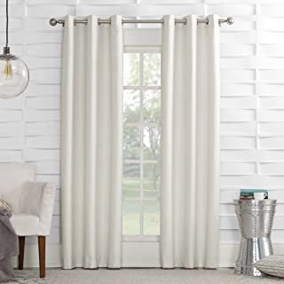 Sun Zero Randall Thermal Insulated Energy Efficient Grommet Curtain Panel, 40