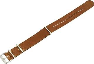 AVI-8 AV-NATO24 24mm Leather Calfskin Watch Strap