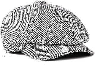 Fashion Vintage Style Men s Panel Tweed Gentleman Octagonal Cap Newsboy  Beret Hat Autumn and for Men s e1fe9dfe47f2