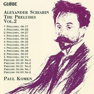 7 Preludes, Op. 17: III. No. 3 in D-Flat Major