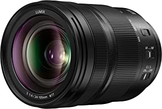 Panasonic LUMIX S 24-105mm F4 Lens, Full-Frame L Mount, Optical Image Stabilizer and Rugged Dust/Splash/Freeze-Resistant for Panasonic LUMIX S Series Mirrorless Cameras - S-R24105 (USA)