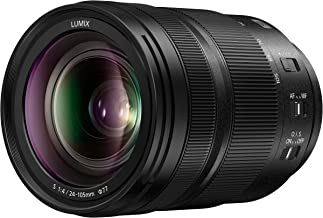$1297 Get Panasonic LUMIX S 24-105mm F4 Lens, Full-Frame L Mount, Optical Image Stabilizer and Rugged Dust/Splash/Freeze-Resistant for Panasonic LUMIX S Series Mirrorless Cameras - S-R24105 (USA)