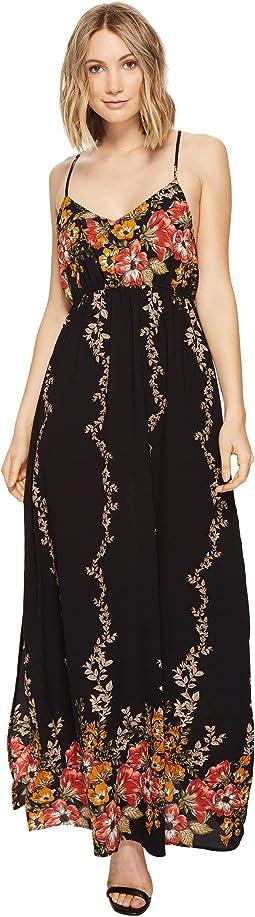 Brigitte Bailey - Ronja Spaghetti Strap Floral Maxi Dress