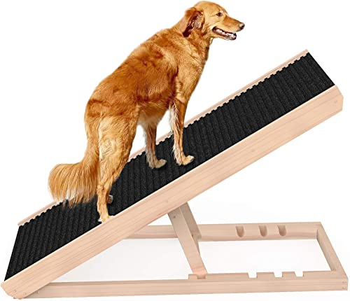 SASRL Adjustable Pet Ramp for All Dogs