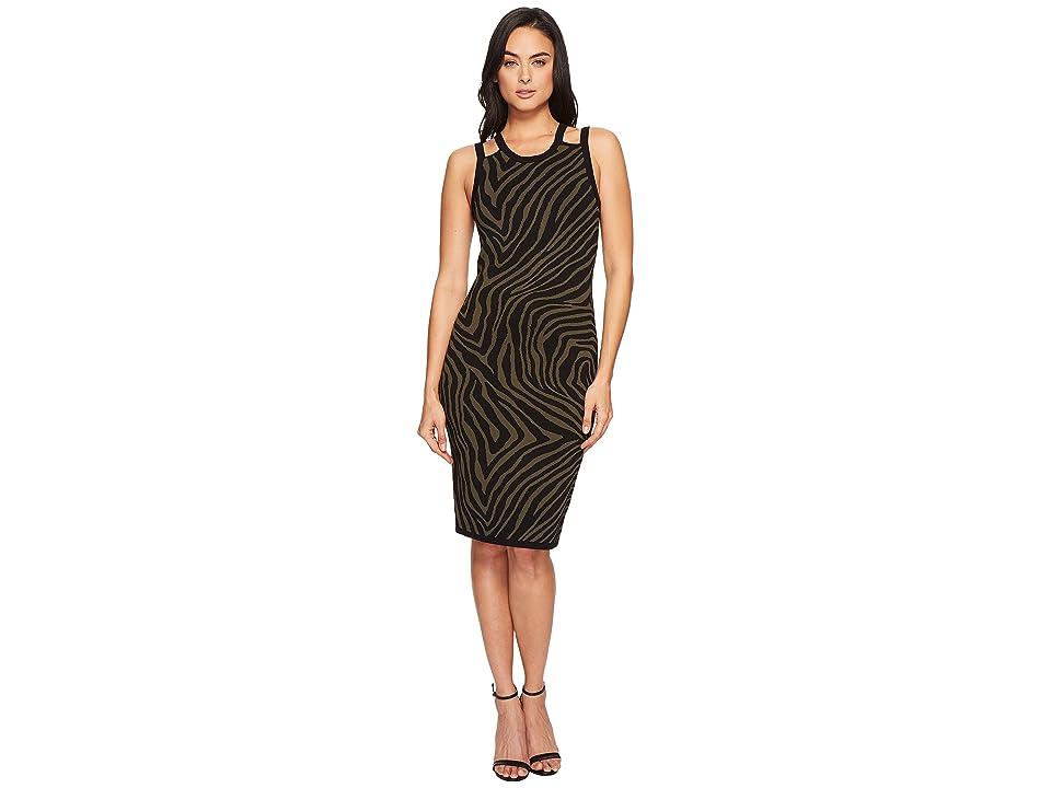 MICHAEL Michael Kors Double Trim Tank Dress (Ivy) Women
