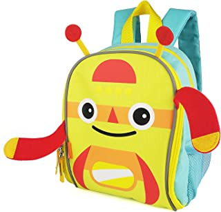 Backpack, Colorful Spring/Summer Bag with Reflective Stripe and Mesh Side Pockets
