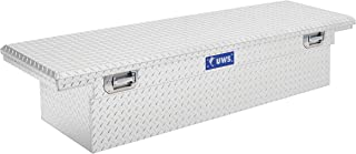 UWS EC10611 Pull Handle 72-Inch Heavy-Wall Aluminum Truck Tool Box with Low Profile, RigidCore Lid
