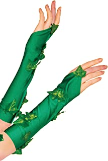 Rubie`s 38033_NS 38033 Women`s DC Comics Poison Ivy Glovelette Costume, One Size, Green