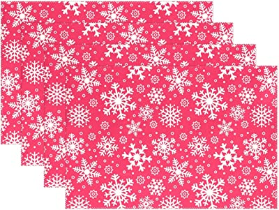 The Cellar Snowflake Collection Set of 4 Cocktail Napkins /並/行/輸/入/品