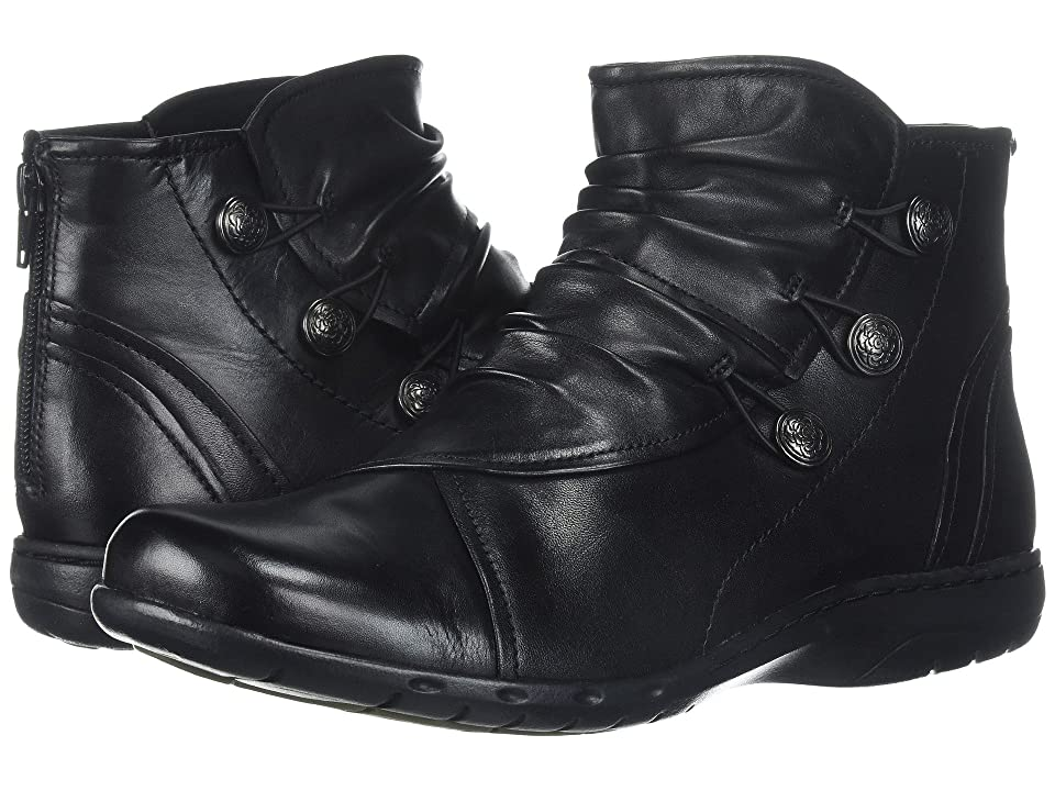 Rockport Cobb Hill Collection Cobb Hill Penfield Boot (Black Leather) Women