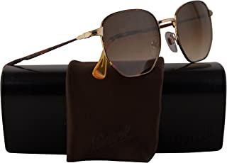 0ac585c3aa71 Persol PO2446S Sunglasses Havana Gold w/Brown Gradient Lens 52mm 107551 PO  2446-S