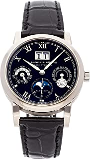 A. Lange & Sohne Langematik Mechanical (Automatic) Black Dial Mens Watch 310.026FE (Certified Pre-Owned)