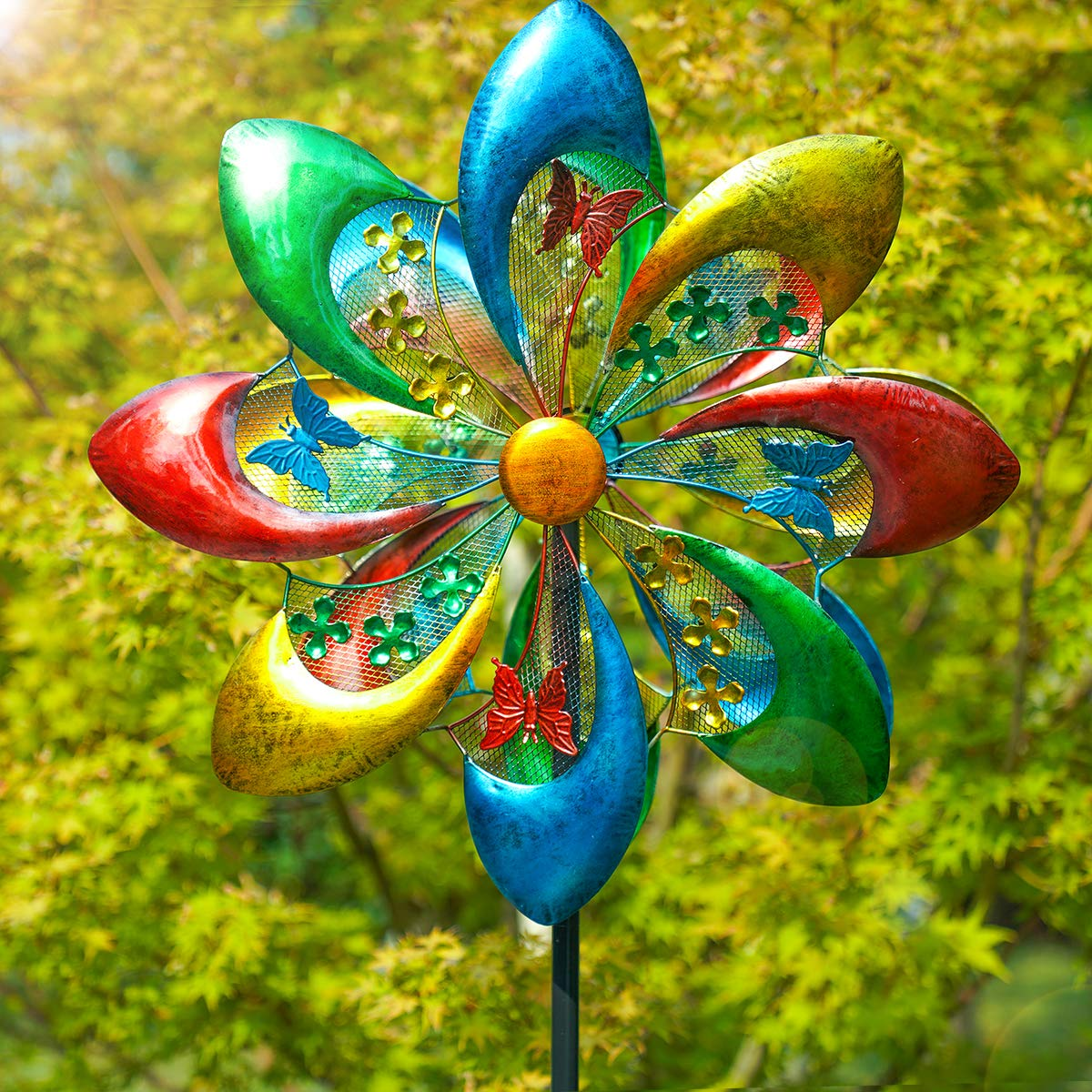Sowsun Spinner Colorful Sculpture Decoration