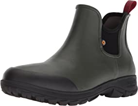 Bogs Men's Sauvie Slip On Low Height Chukka Rain Boot
