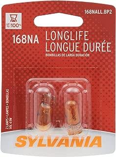Sylvania 168NA Long Life Miniature Bulb, (Contains 2 Bulbs)