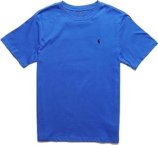 (ポロ ラルフローレン)POLO RALPH LAUREN ボーイズ Boys 半袖 Tシャツ Cotton Jersey Crewneck T-Shirt カイト ブルー Kite Blue [並行輸入品]