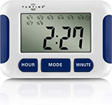 TabTime Timer, Electronic Pill Reminder with 8 Alarms per Day, Essential for Parkinson's Patients