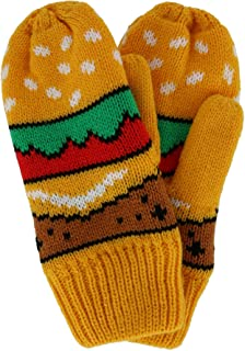 Densley & Co Kids' Novelty Foodie Winter Mittens