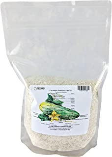 Cucumber Fertilizer 8-16-36 Powder 100% Water Soluble Plus Micro Nutrients and Trace Minerals Greenway Biotech Brand 1 Pound (Makes 200 Gallons)