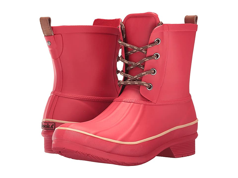 Chooka Classic Rain Duck Boot (Red) Women