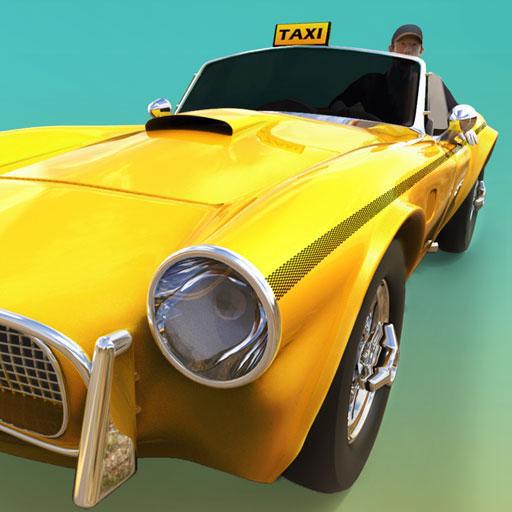 Euro Taxi Driver Simulator Gioco 2018: Transport Tourist In City Rush Frenzy Parcheggio auto Adventure Simulation 3D