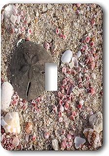 3dRose LSP _ _ _ _ _ _ _ _ _ _ 164781_ _ _ _ _ _ _ _ _ _ 1foto de dólar de arena y conchas, Playa En Omán, foto por Rhonda Albom único Toggle Switch