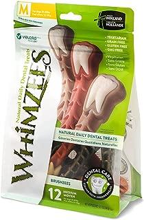 Whimzees Natural Grain Free Dental Dog Treats, Brushzees